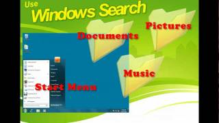 Windows 7 - Use Windows Search - PC Operating Systems