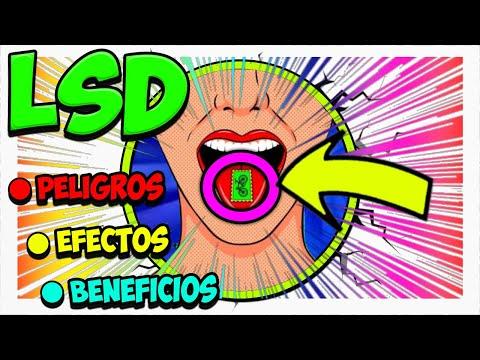 LSD 🟣 Efectos