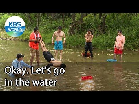 Okay. Let's Go In The Water (2 Days \u0026 1 Night Season 4) | KBS WORLD TV 210815