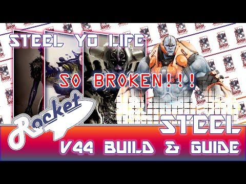 Paragon: V44 Steel Build and Guide #1 - Steel Yo Life; So Broke!!!