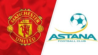 Лига Европы УЕФА в Нур-Султане. «Манчестер Юнайтед» готовится к игре