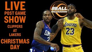 Clippers At Lakers Christmas Day LIVE Post Game Show
