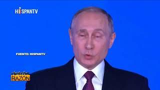 ¿RUSIA INVENCIBLE? PUTIN PRESENTA NUEVAS ARMAS NUCLEARES
