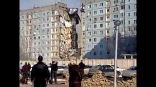 Обрушение дома в Астрахане 27 февраля 2012 г.