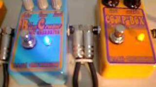 comp box compressor stompbox demo clip