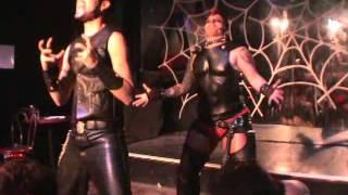"Drag king "" Paralyser"" Performance by Fella-Fem"