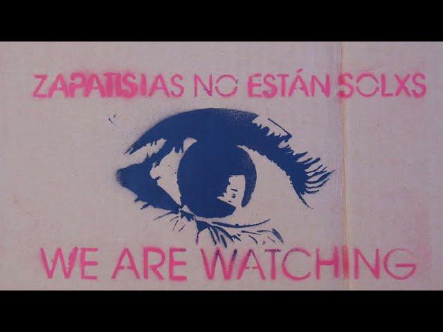 Movilizaciones contra las agresiones paramilitares a las comunidades zapatistas.
