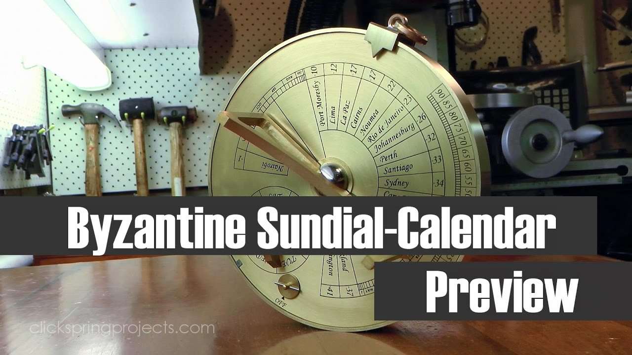 the byzantine sundial calendar the 2nd patron series project