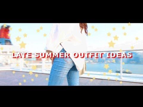 [VIDEO] - ?LATE SUMMER OUTFIT IDEAS 夏末穿搭??丨Faye Yau 4