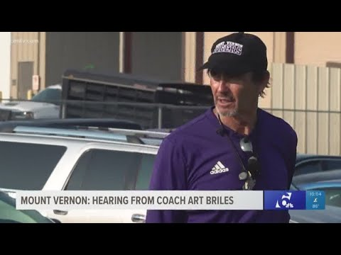 News Around The Lone Star State - FROM KCEN - Art Briles back on field in Texas, not talking about Baylor