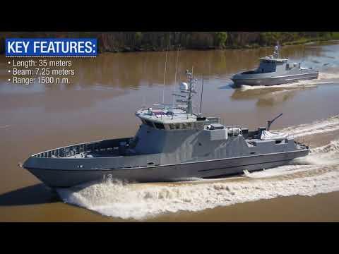 35M Fast Patrol Vessel (FPV) - Optimal Performance, Efficiency and Comfort