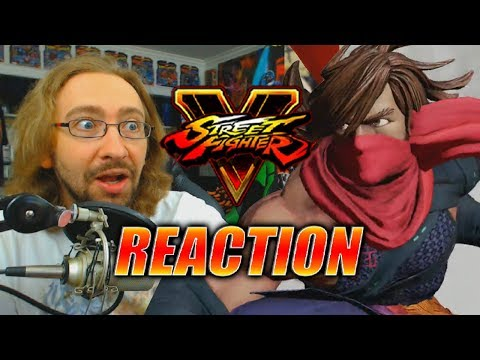 MAX REACTS: Zeku Reveal - Street Fighter 5