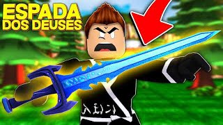 SWORD OF The GODS in the ROBLOX