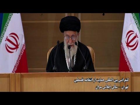 Iran leader backs liberation from Israel