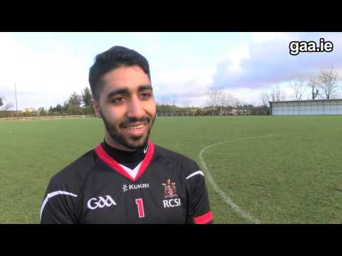 Saudi goalkeeper in the Sigerson