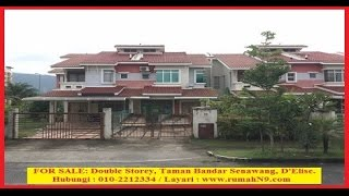 FOR SALE: Double Storey, Taman Bandar Senawang, D
