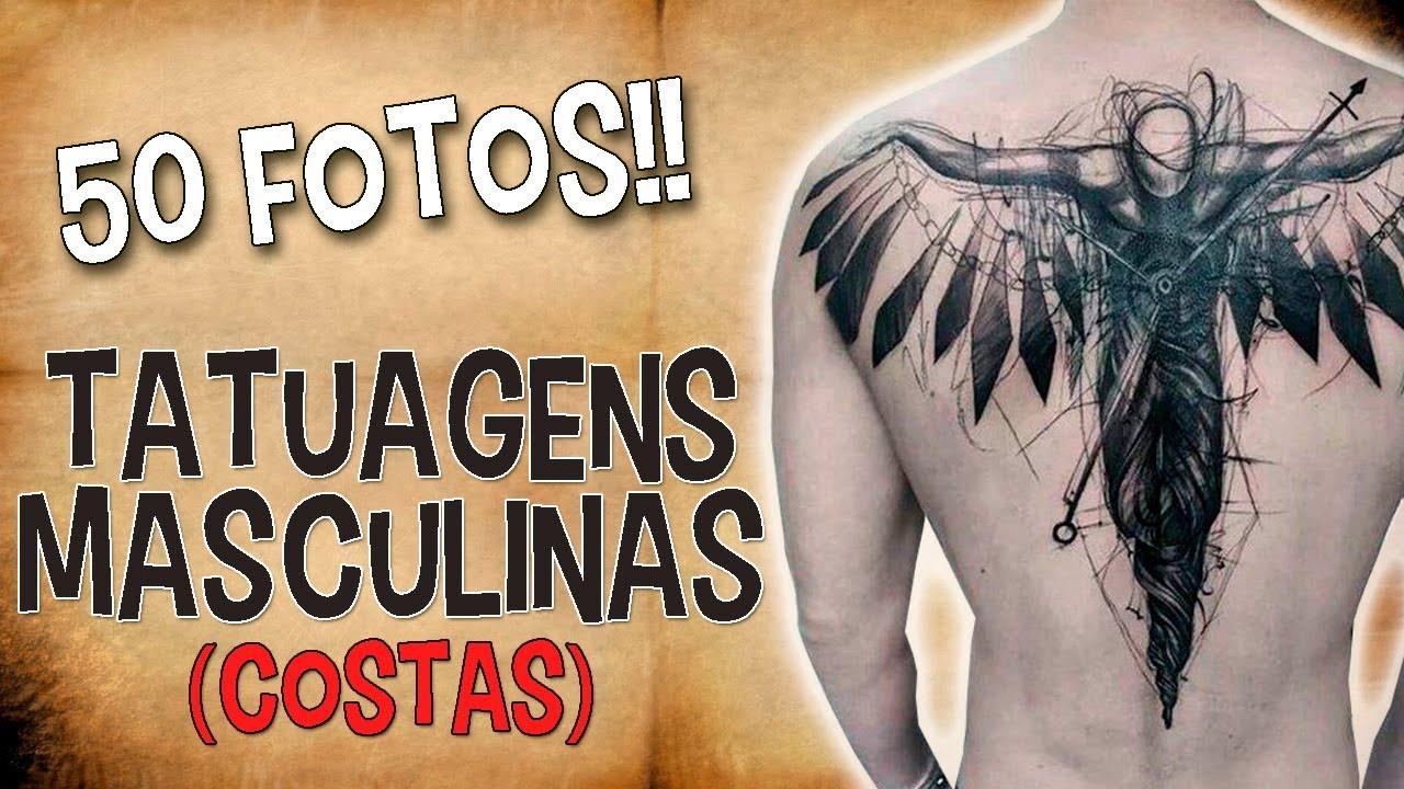 Tatuagens Masculinas Costas 50 Fotos