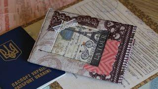 Обложка для паспорта(как сделать обложку из ткани., 2016-03-28T09:00:00.000Z)