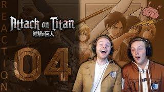SOS Bros React - Attack on Titan Season 3 Episode 4 - IT'S A TRAP!!!