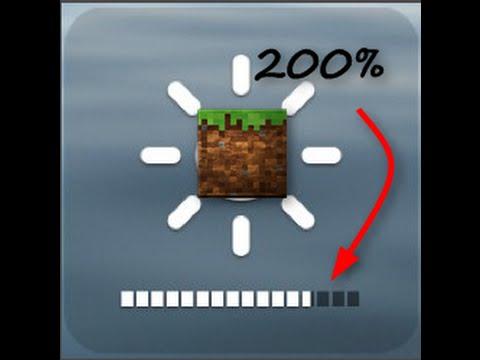 tuto 2 minecraft comment augmenter la luminosit 200 youtube. Black Bedroom Furniture Sets. Home Design Ideas