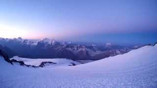 3 панорама с эльбруса в 06 10 на высоте 4294 м