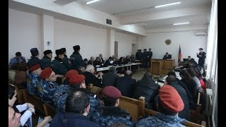 Live  Նորք Մարաշի զինված խմբի գործով դատական նիստը