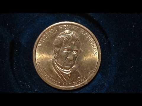 Presidential Dollar Coin: 2009 William Henry Harrison