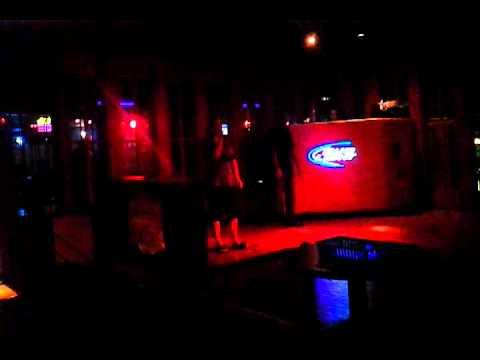 Momo sings Karaoke