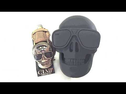 CLVII skull watch: Unboxing and How It Works