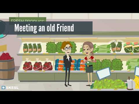 Смотреть английский, уроки англ онлайн, Встреча со старым другом