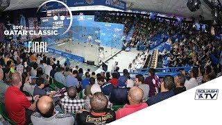 Squash: Mo.Elshorbagy v Momen - Qatar Classic 2017 Final Highlights