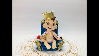 обзор фигурки малыш на троне