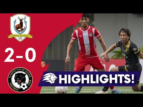 Tampines Tanjong Pagar United Goals And Highlights