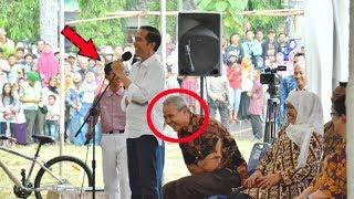 Ganjar Tertawa Terpingkal-pingkal Lihat Jokowi Belajar Bahasa Ngapak Dari Anak SMP