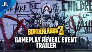 Borderlands 3 -  Gameplay Reveal Event Trailer | PS4