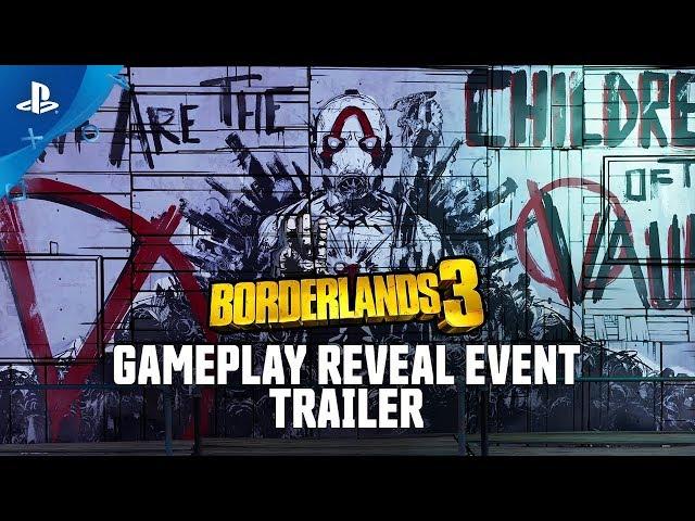 Borderlands 3 - Gameplay Reveal Event Trailer | PS4
