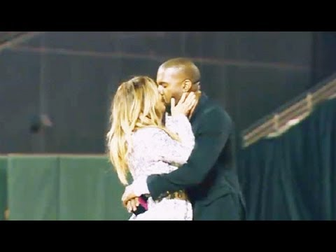 Kanye's Proposal To Kim Kardashian Finally Airs