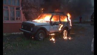 Подожгли машину, а загорелся дом