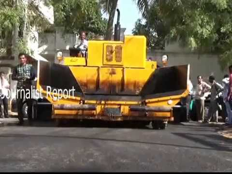 New Technology for Plastic Roads in Hyderabad