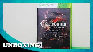 Unboxing - Castlevania Lords of Shadow Collection | Xbox 360