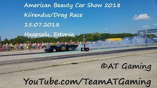 American Beauty Car Show Kiirendus/Drag race