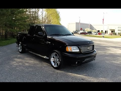 2000 Ford F 150 Flare Side SuperCab Harley Davidson Edition 4X2|B0261