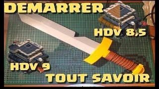 [COC] HDV 9 GDC   DEBUTER EN HDV 9 FAIRE UN HDV 8 5   CLASH OF CLANS FRANCAIS