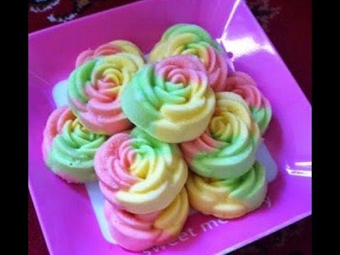 cara membuat bolu kukus mawar