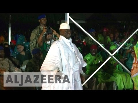 Gambia crisis ends as Yahya Jammeh leaves for exile