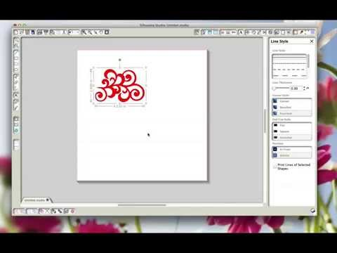 Converting Silhouette cutting files for the Brother