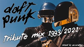 Daft Punk Tribute Mix 1993/2021 | Mixed by Azzeration