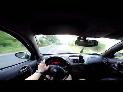 Alfa Romeo 147 1.9 JTD Q2 - POV Country Road Drive