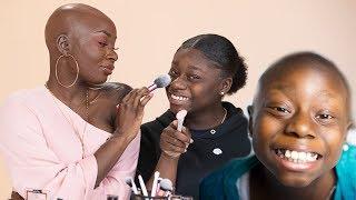 Makeup Transformation On A Cancer Survivor   Shalom Blac