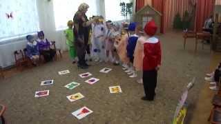 Игра на развитие зрительного восприятия для детей с нарушением зрения